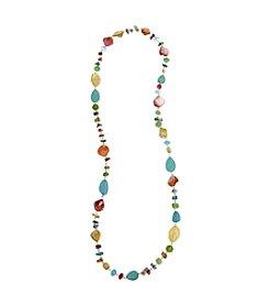 Erica Lyons® Beaded Multi Long Strand Necklace