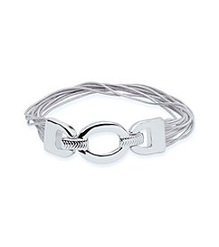 Nine West® Open Link Stretch Bracelet