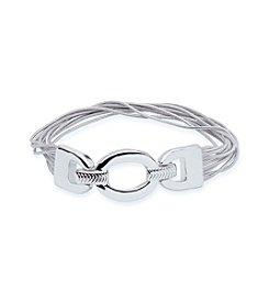 Nine West® Open Link Stretch Bracelet