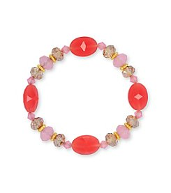 Nine West® Multi Bead Stretch Bracelet