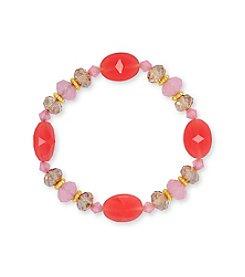 Nine West® Multi Bead Stretch Bracelet