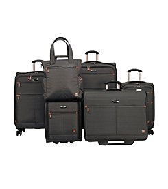 Ricardo Beverly Hills Grey Davenport Luggage Collection