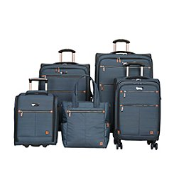 Ricardo Beverly Hills Teal Davenport Luggage Collection