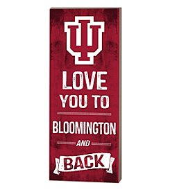 Kindred Hearts NCAA® Indiana Hoosiers Love You Pallet