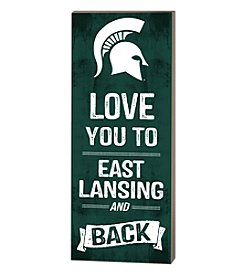 Kindred Hearts NCAA® Michigan State Spartans Love You Pallet