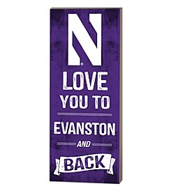 Kindred Hearts NCAA® Northwestern Wildcats Love You Pallet