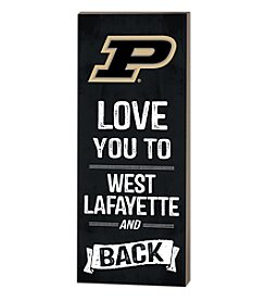 Kindred Hearts NCAA® Purdue Boilermakers Love You Pallet