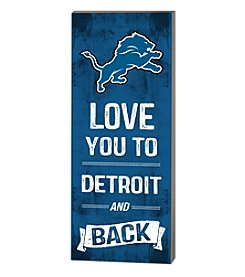 Kindred Hearts NFL® Detroit Lions Love You Pallet