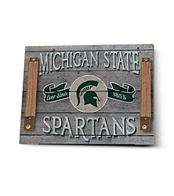 Kindred Hearts NCAA® Michigan State Spartans Vintage Tray