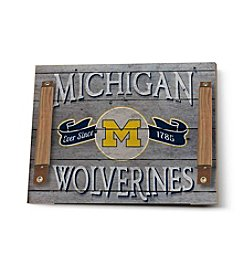 Kindred Hearts NCAA® Michigan Wolverines Vintage Tray