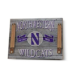 Kindred Hearts NCAA® Northwestern Wildcats Vintage Tray
