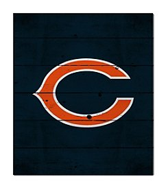 Kindred Hearts NFL® Chicago Bears Logo Pallet Wall Art