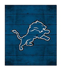 Kindred Hearts NFL® Detroit Lions Logo Pallet Wall Art