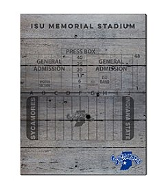 Kindred Hearts NCAA® Indiana State Sycamores Stadium Pallet