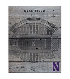 Kindred Hearts NCAA® Northwestern Wildcats Stadium Pallet