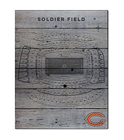 Kindred Hearts NFL® Chicago Bears Stadium Pallet Wall Art