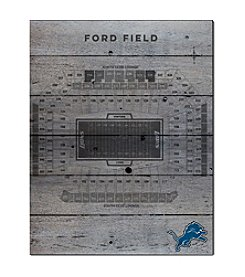Kindred Hearts NFL® Detroit Lions Stadium Pallet Wall Art