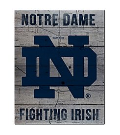 Kindred Hearts NCAA® Notre Dame Fighting Irish Road To Victory Pallet
