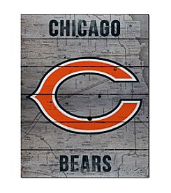 Kindred Hearts NFL® Chicago Bears Road to Victory Pallet Wall Art