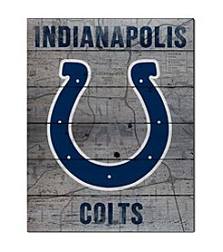 Kindred Hearts NFL® Indianapolis Colts Road To Victory Pallet Wall Art