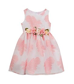 Rare Editions® Girls' 2T-6X Texture Organza Dress