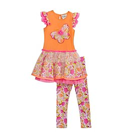 Rare Editions® Girls' 2T-4T 2-Piece Multi Tutu Set