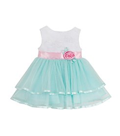 Rare Editions® Girls' 4-6X Soutache Mesh Dress