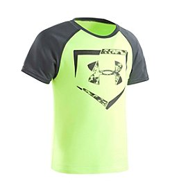 Under Armour® Boys' 2T-4T Plate Logo Short Sleeve Tee