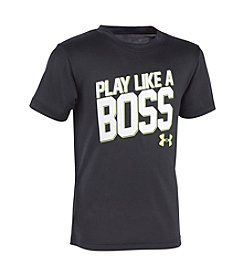 Under Armour® Boys' 2T-7 Play Like A Boss Short Sleeve Tee