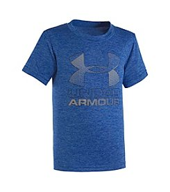 Under Armour® Boys' 2T-7 Big Logo Short Sleeve Tee