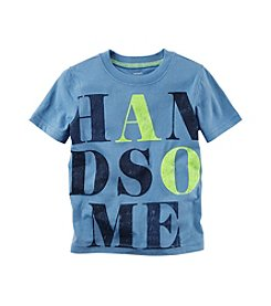 Carter's® Boys' 2T-8 Short Sleeve Handsome Tee