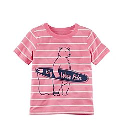Carter's® Boys' 2T-8 Short Sleeve Bear Rider Tee