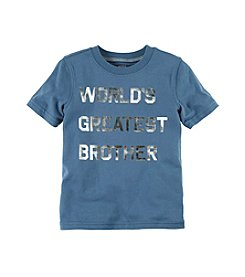 Carter's® Boys' 2T-8 Short Sleeve Brother Tee