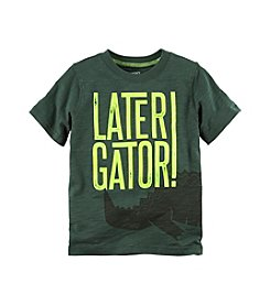 Carter's® Boys' 2T-8 Short Sleeve Gator Tee