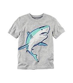 Carter's® Boys' 2T-7 Short Sleeve Shark Tee