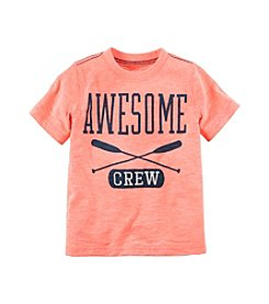 Carter's® Boys' 2T-7 Short Sleeve Awesome Tee