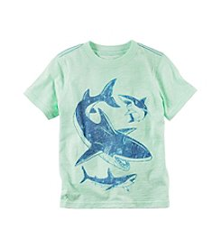 Carter's® Boys' 2T-8 Short Sleeve Shark Tee