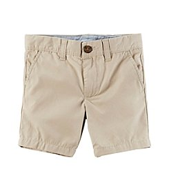 Carter's® Boys' 2T-8 Khaki Shorts