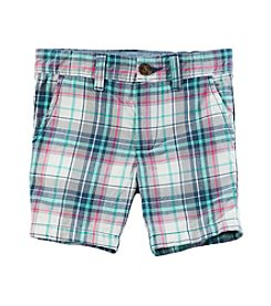 Carter's® Boys' 2T-8 Plaid Shorts