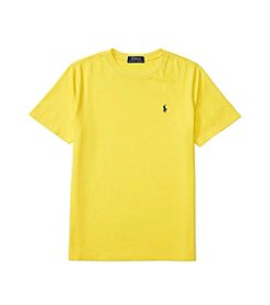 Polo Ralph Lauren® Boys' 8-20 Short Sleeve Solid Jersey Top