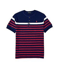Polo Ralph Lauren® Boys' 8-20 Short Sleeve Henley Top