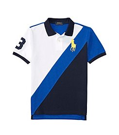 Polo Ralph Lauren® Boys' 8-20 Short Sleeve Banner Top