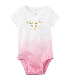 Carter's® Baby Girls' 12-24 Month Ombre Adorable Bodysuit