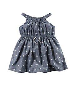 Carter's® Baby Girls' Star Printed Chambray Dress