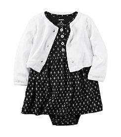 Carter's® Baby Girls' 2-Piece Geo Dress And Cardigan Set