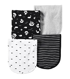 Carter's® Baby Boys 4-Pack Ships Burp Cloths