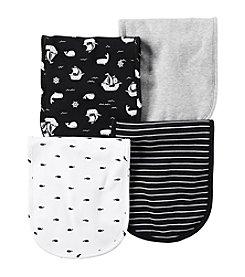 Carter's® Baby Boys 4-Pack Ships Burp Cloths