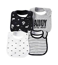 Carter's® Baby Boys 4-Pack Ahoy Bibs