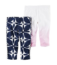 Carter's® Baby Girls' 2-Piece Leggings Set