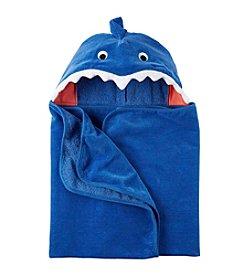 Carter's® Baby Boys Shark Hooded Towel